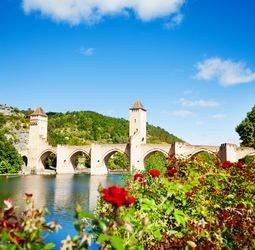 thumbnail Fietsvakantie Frankrijk - Lot, Quercy en Dordogne