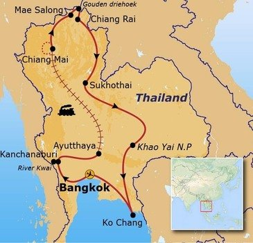 groep rondreis thailand met verlenging