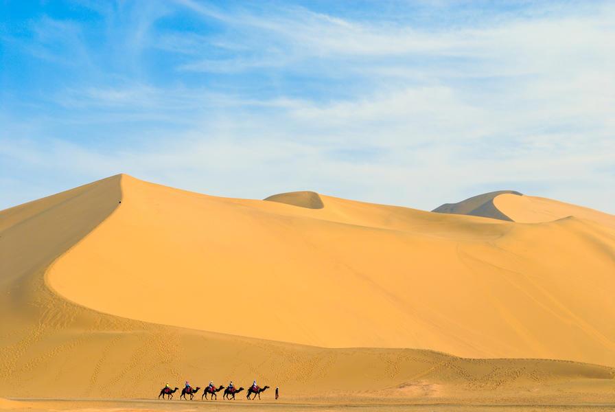 Sfeerimpressie Zijderoute: In het spoor van Marco Polo