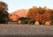 foto Brandberg White Lady campsite