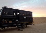 foto Truck en tent Namibië