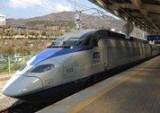 foto trein in Zuid-Korea