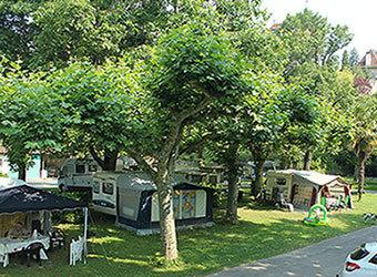Accommodaties van de fietsvakantie frankrijk - Camping municipal saint jean pied de port ...
