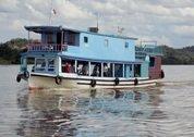 foto Mahakam river cruise boat