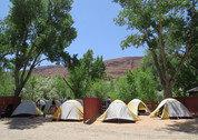 foto Canyonlands campsite