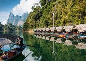 foto Floating Raft Houses
