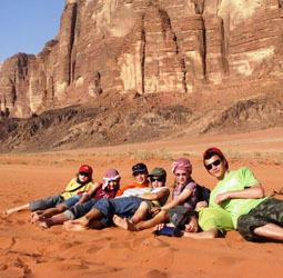 Familiereis Jordanië