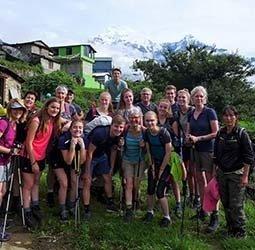 Familiereis Nepal