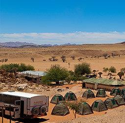 thumbnail Groepsrondreis Namibi� kampeer