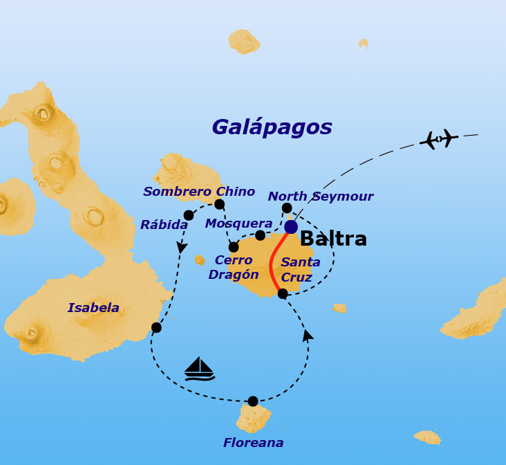 Rondreis Galapagos Eilanden Groepsreis Sawadee Reizen