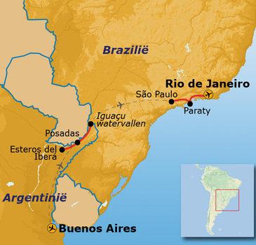 Route Argentinië en Brazilië, 16 dagen