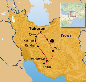 route Iran, 9 dagen