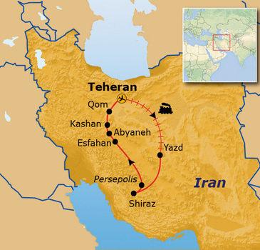 Route Iran, 14 dagen