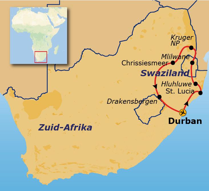 146d85f16d9c44 Groepsreis Zuid-Afrika & Swaziland Pop-Up - Baobab reizen