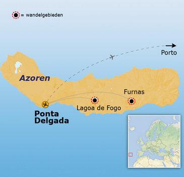 Route Azoren, 8 dagen