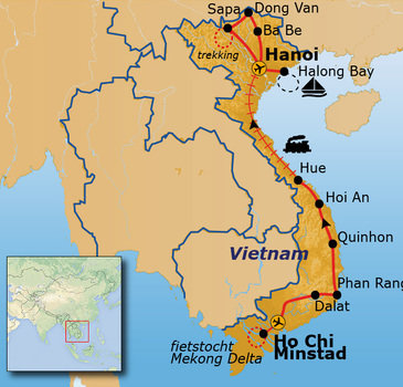 Route Vietnam, 29 dagen