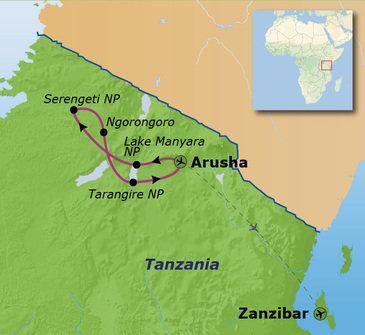 Route 2019 Tanzania en Zanzibar, 16 dagen