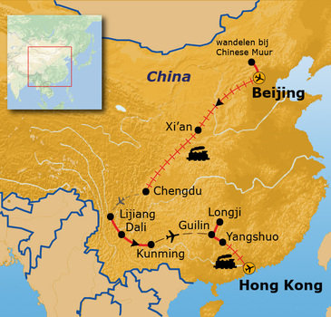 Route China, 23 dagen