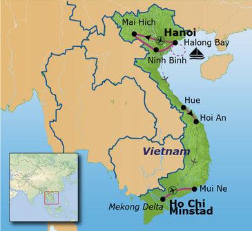Route Vietnam, 23 dagen