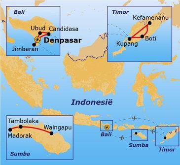 Route Timor, Sumba & Bali, 22 dagen