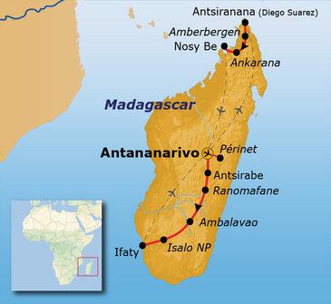 Route Madagascar 15 en 29 juli 2019, 26 dagen