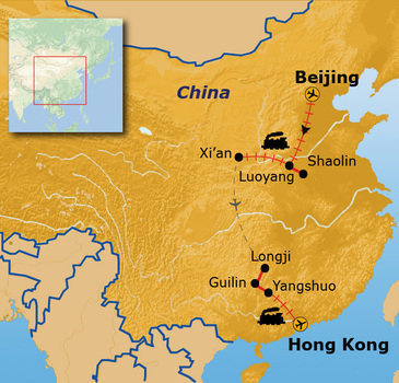 Route China 16 dagen