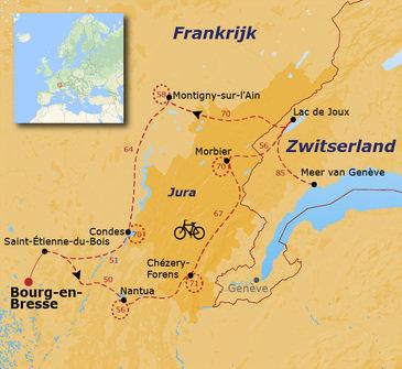 Fietsvakantie in de Haut-Jura