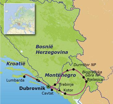 Route Balkan, 15 dagen