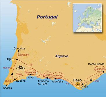 Fietsvakantie Portugal - Algarve