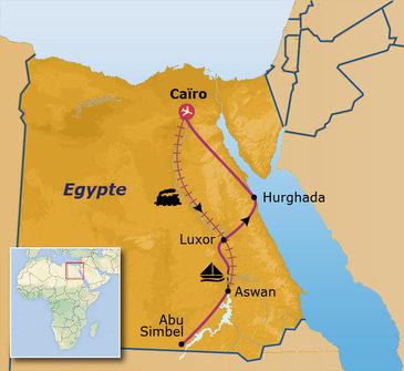 Jongeren reis Egypte in 16 dagen
