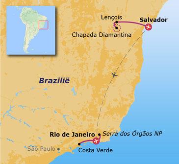 Brazilië jongerenreis - 24 dagen