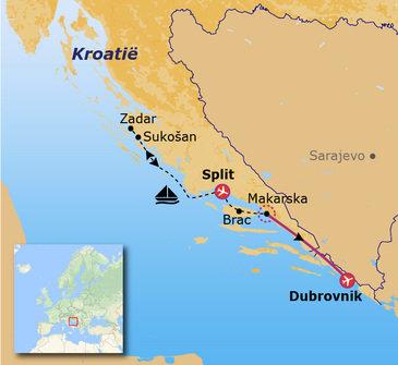 Kroatië zeilreis Go-26
