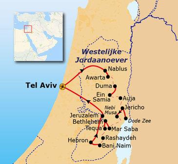 Wandelen door de Westelijke Jordaanoever