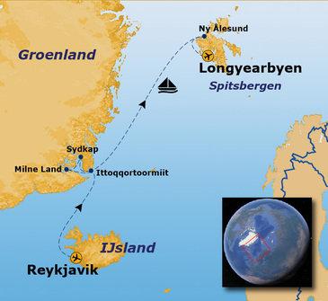 Route Noordwaards