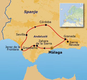 Route Andalusië, 10 dagen