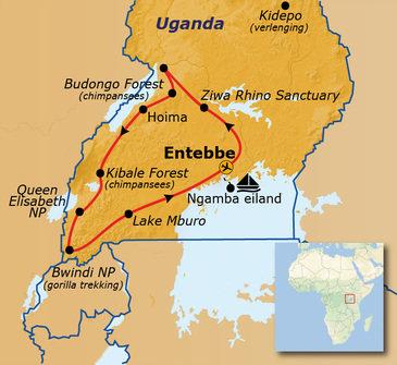 Route Uganda, 18 dagen