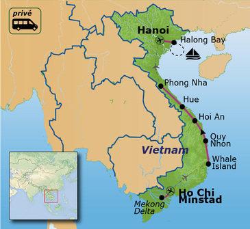 Route Vietnam, 16 dagen