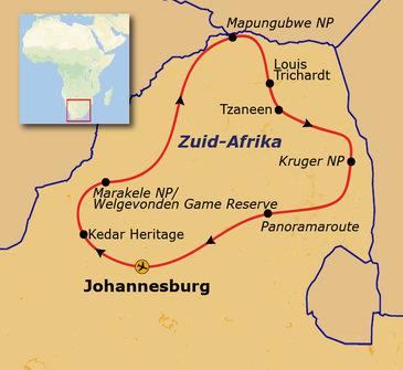 Zuid-Afrika Parken, 15 dagen