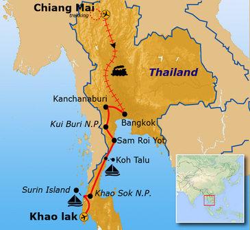 Thailand 22-35, 19 dagen