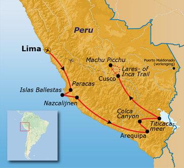 Route Peru 2020, 21 dagen
