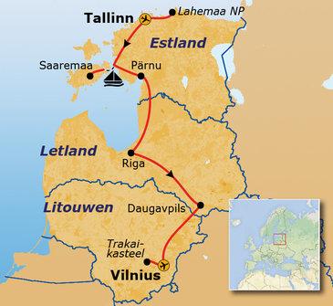 Baltische Staten - 10 dagen