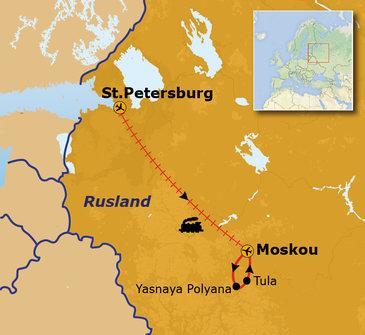Rusland hoogtepunten