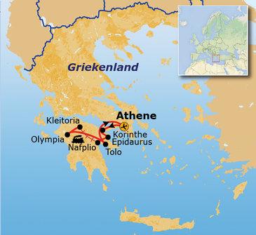 Griekenland 8 dagen, 2021