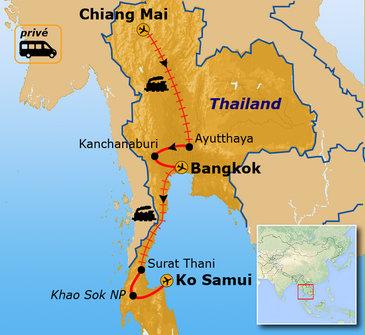 Route Thailand mei - september / Ko Samui