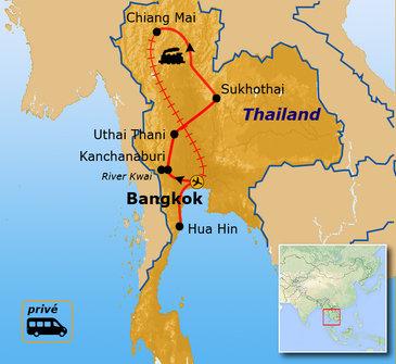 Route Thailand, 15 dagen