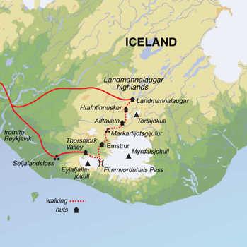 Route 7 daagse wandelvakantie IJsland