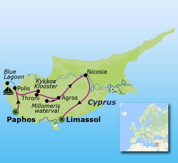 Route Cyprus, 11 dagen