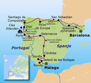 Familiereis Spanje & Portugal, 22 dagen