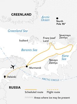 Russische Archipel 22 dagen