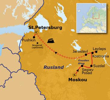 Nieuw vanaf 2022: Rusland 14-dagen